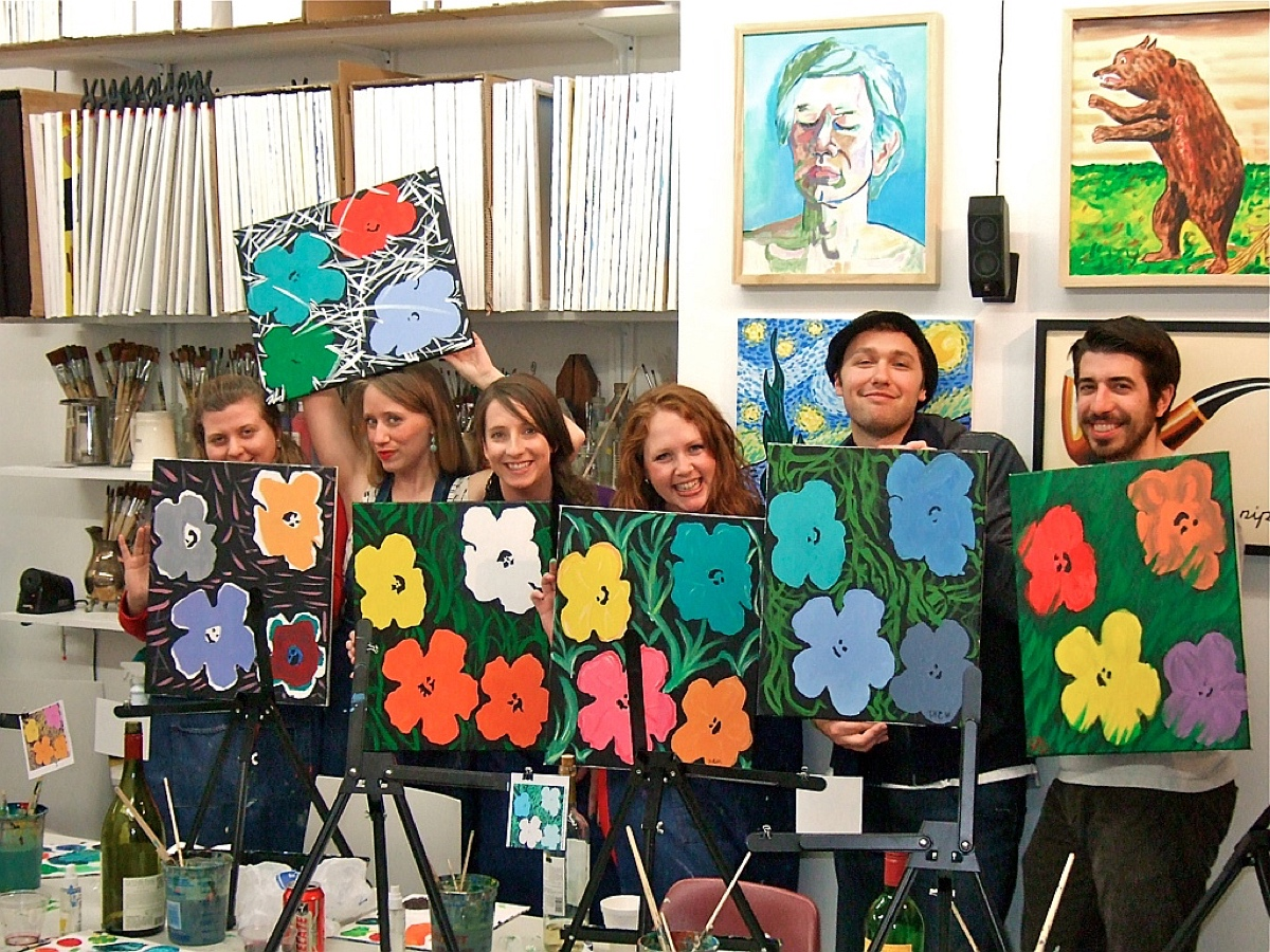 Byob Paint And Sip Paint Night Painting Art Classes Nyc